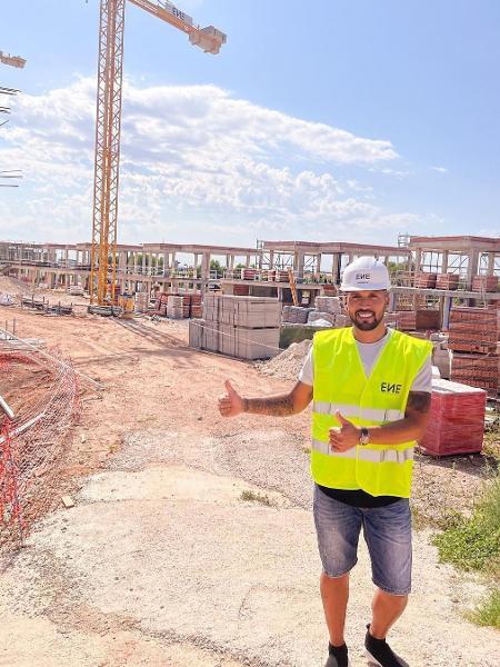 Ezequiel Garay, ex-zagueiro do Real Madrid e seleção argentina, virou promotor de casas de luxo na Espanha - Reprodução