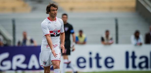 Lugano esteve em campo em nove partidas - Eduardo Anizelli/Folhapress
