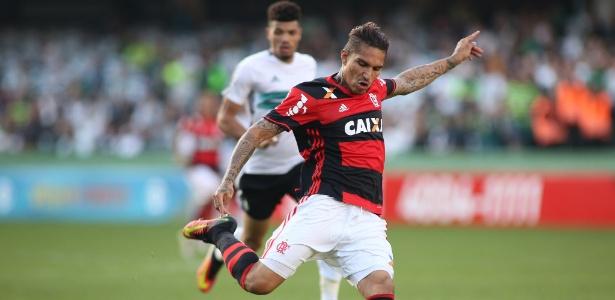 Guerrero é uma das apostas do Flamengo para ingressar no G4 do Brasileiro