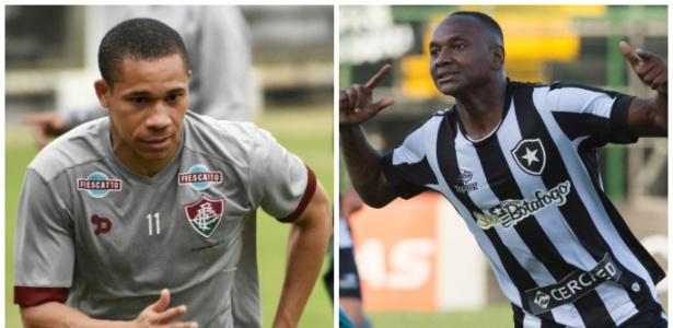Wellington, do Flu, e Sassá, do Botafogo, são amigos de longa data
