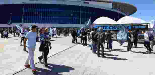 Torcedores do Grêmio participam de eleição para renovação do Conselho Deliberativo - LUCAS UEBEL/GREMIO FBPA - LUCAS UEBEL/GREMIO FBPA