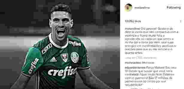 Reprodução Moisés Instagram 2 - Reprodução/Instagram - Reprodução/Instagram