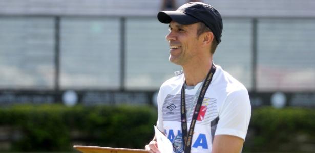 Técnico Milton Mendes tem gostado do que vê na equipe sub-20: 'Interessantíssimos'