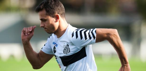 Nilmar não atua há um ano e o Internacional questiona desejo de voltar a jogar - Divulgação Santos