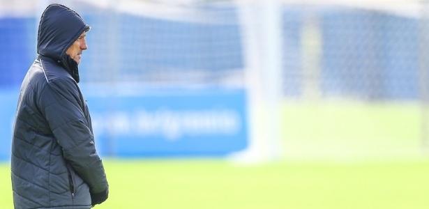 Renato Gaúcho dosa titulares e tenta levar o Grêmio à frente em todas competições - Lucas Uebel/Grêmio