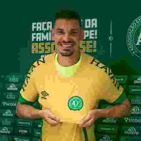 Goleiro João Ricardo é apresentado na Chapecoense - Márcio Cunha/Chapecoense