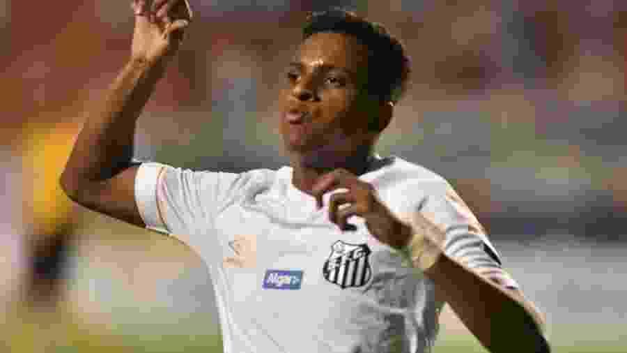 Rodrygo é um dos convocados de André Jardine para o Torneio de Toulon - Ivan Storti/Santos FC