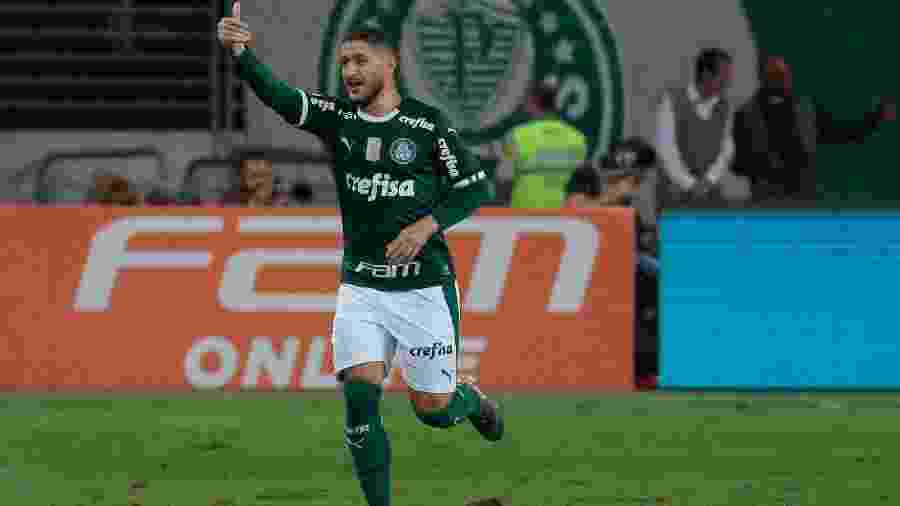 Provável titular hoje, Zé Rafael brilhou no jogo do primeiro turno com dois gols e uma assistência - Marcello Zambrana/AGIF