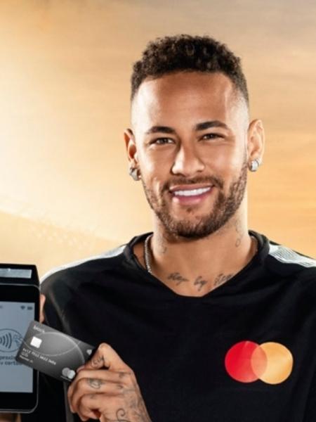 Neymar em peça publicitária da Mastercard - MasterCard/WMcCann