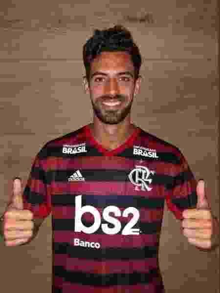 Pablo Marí foi anunciado pelo Flamengo  - Divulgação