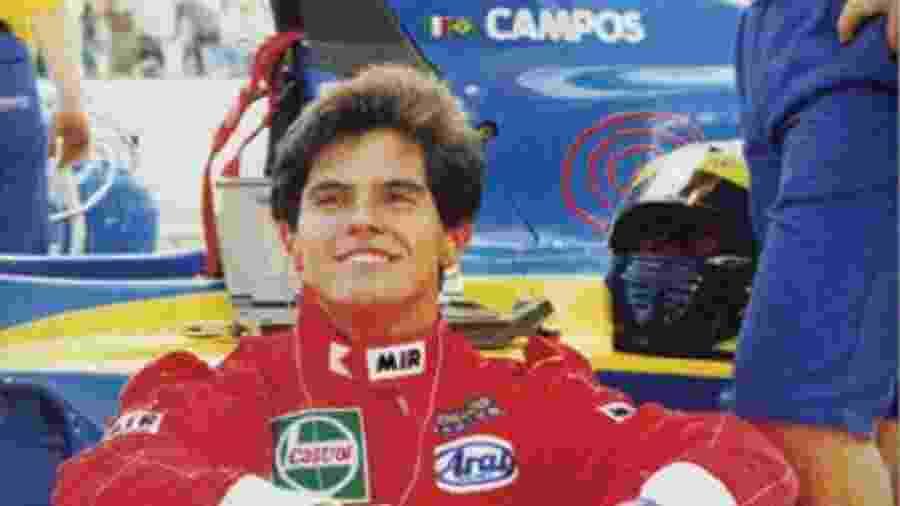 Marco Campos era considerado uma das grandes promessas do automobilismo brasileiro - Arquivo Pessoal