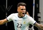 Com três gols de Lautaro, Argentina goleia México em amistoso nos EUA - Edward A. Ornelas/Getty Images/AFP