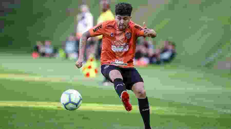 Luan treina normalmente, mas está fora da lista de relacionados do Atlético-MG para a semifinal - Bruno Cantini/Divulgação/Atlético-MG