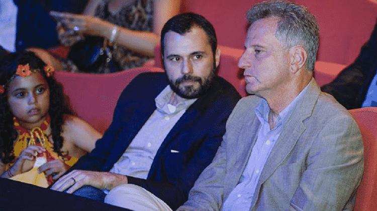 Mario Bittencourt e Rodolfo Landim estão opostos em 2020, mas possuem boa relação - Marcelo Cortes/Flamengo - Marcelo Cortes/Flamengo