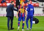 Barcelona confirma lesão na coxa de Alba e não dá prazo para retorno - David Ramos/Getty Images