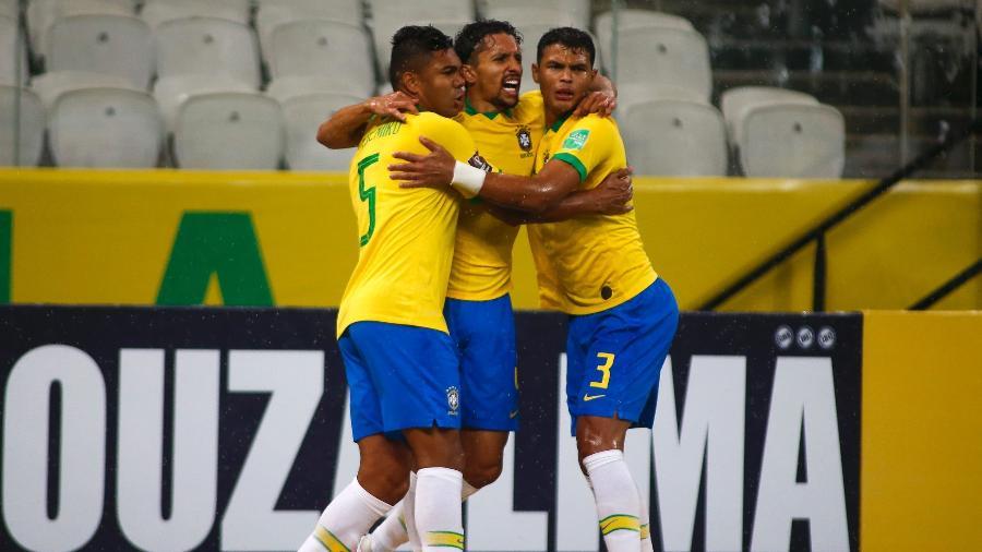 Casemiro destacou a seriedade do Brasil diante da Bolívia - Miguel Schincariol/CBF