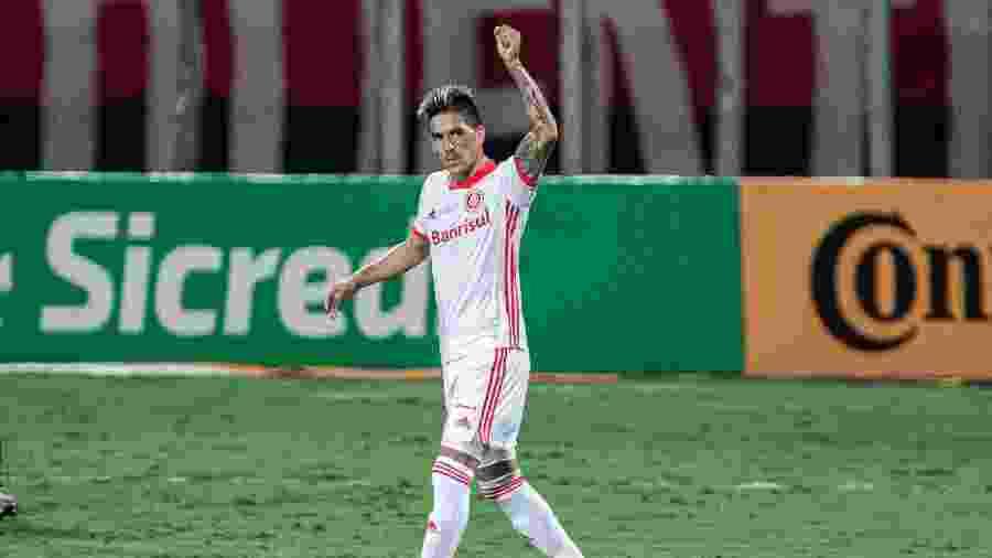 Leandro Fernandez deve receber oportunidade no Inter contra o Atlético-MG - Heber Gomes/AGIF