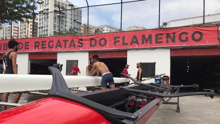 Box do remo do Flamengo - Divulgação/Flamengo