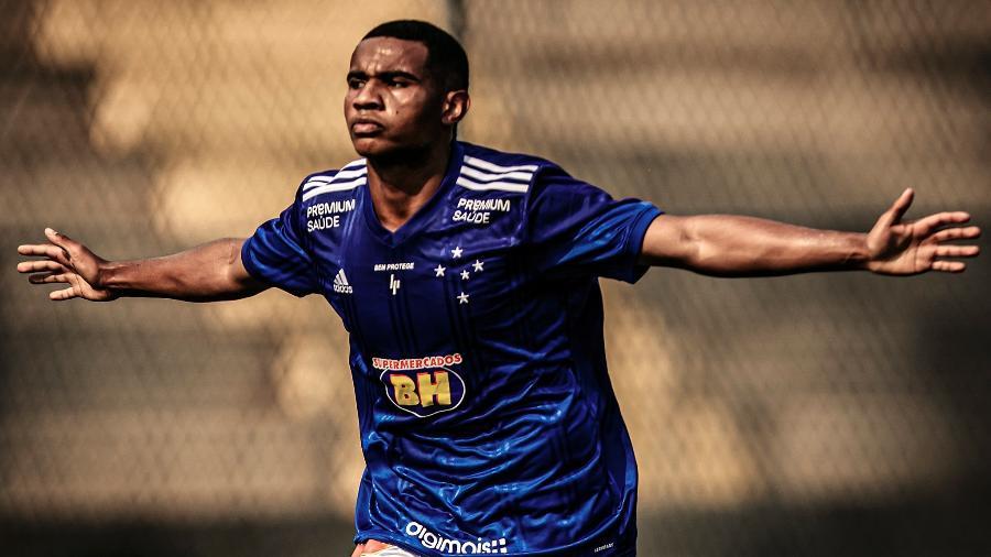 Choco, ex-jogador do Cruzeiro, chega por empréstimo ao Palmeiras sub-20 - Pedro Vale/Cruzeiro