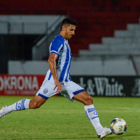 Dellatorre é o artilheiro do CSA e da Copa do Nordeste - Augusto Oliveira/CSA