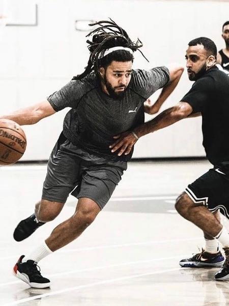 Rapper J. Cole vai jogar pelo Rwanda Patriots, da Basketaball Africa League - Reprodução