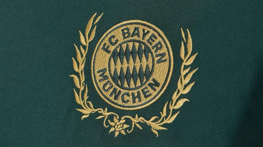 Detalhe do uniforme comemorativo do Bayern de Munique - Reprodução/Twitter