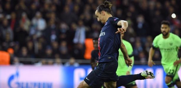 Ibrahimovic tem lesão no calcanhar que pode tira-lo da partida contra o Olympique de Marselha