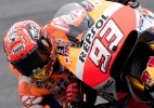 Astro da moto GP é levado para hospital após deslocar ombro e bater cabeça - JOE KLAMAR/AFP