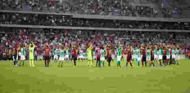 Dupla Atletiba não chegou a acordo com TV aberta; transmissão terá apoio do EI - Cleber Yamaguchi/AGIF
