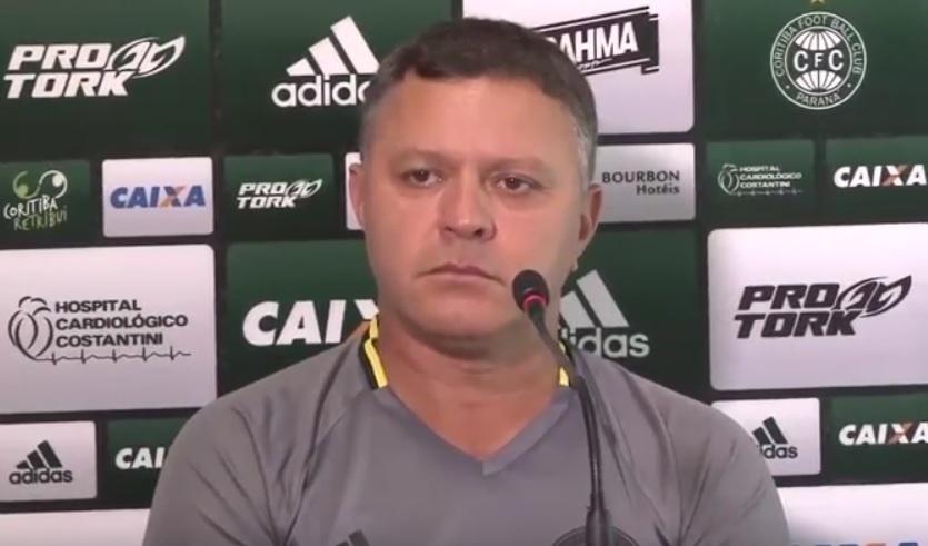 Pachequinho, técnico do Coritiba