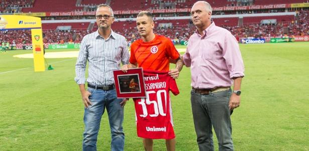 D'Alessandro completa 350 jogos com a camisa do Internacional