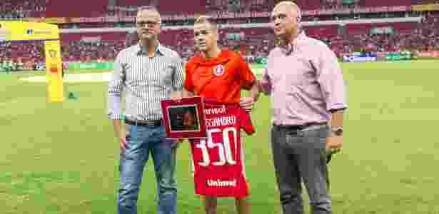 """D""""Alessandro completa 350 jogos com a camisa do Internacional - Jeferson Guareze/AGIF"""
