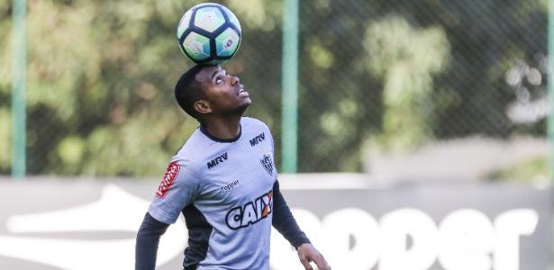 Robinho diz que sua vontade é renovar o contrato com o Atlético-MG