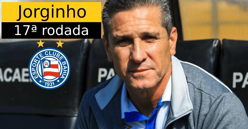 Jorginho foi demitido do Bahia após derrota em casa por 3 a 1 para o Sport