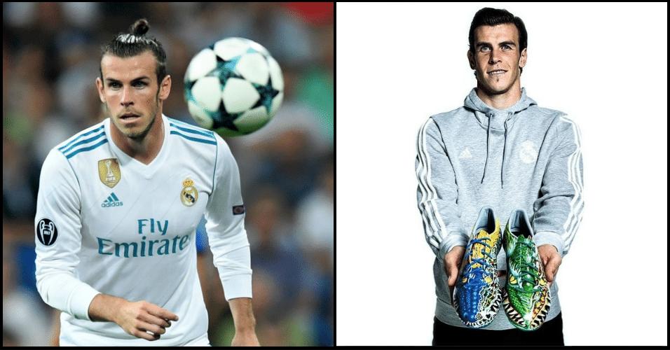 Bale já usou chuteiras com desenhos de crocodilos