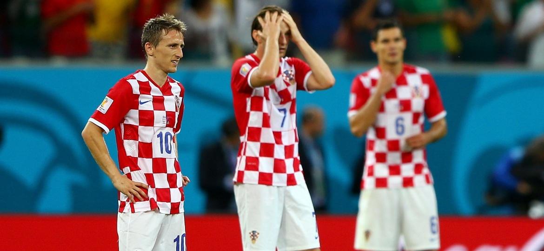 Croácia conta com Modric e Rakitic, astros de Real Madrid e Barcelona - Michael Steele/Getty Images