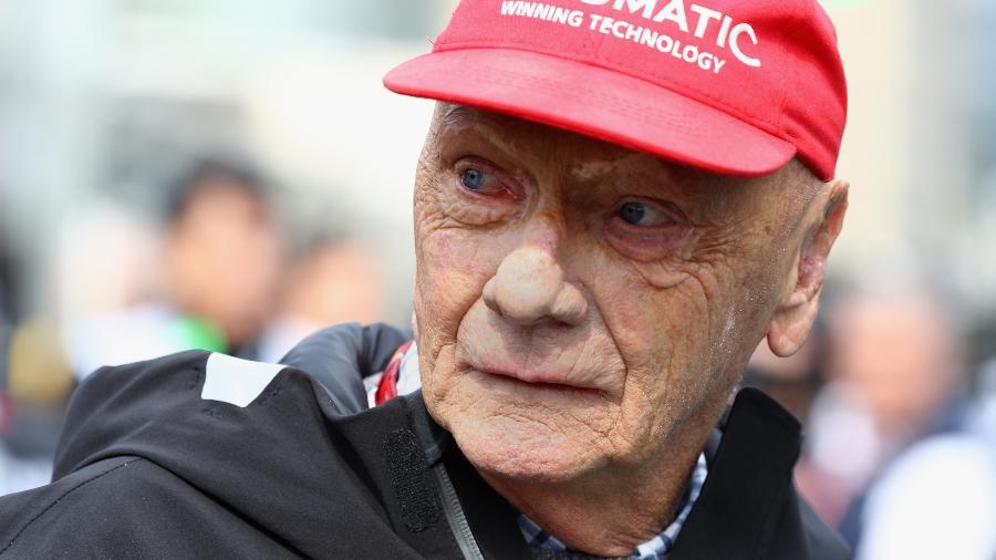 O ex-piloto austríaco Niki Lauda - Mark Thompson/Getty Images