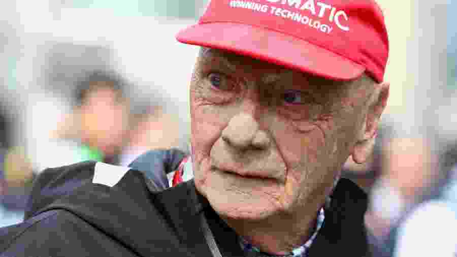 O ex-piloto austríaco Niki Lauda - Mark Thompson/Getty Images