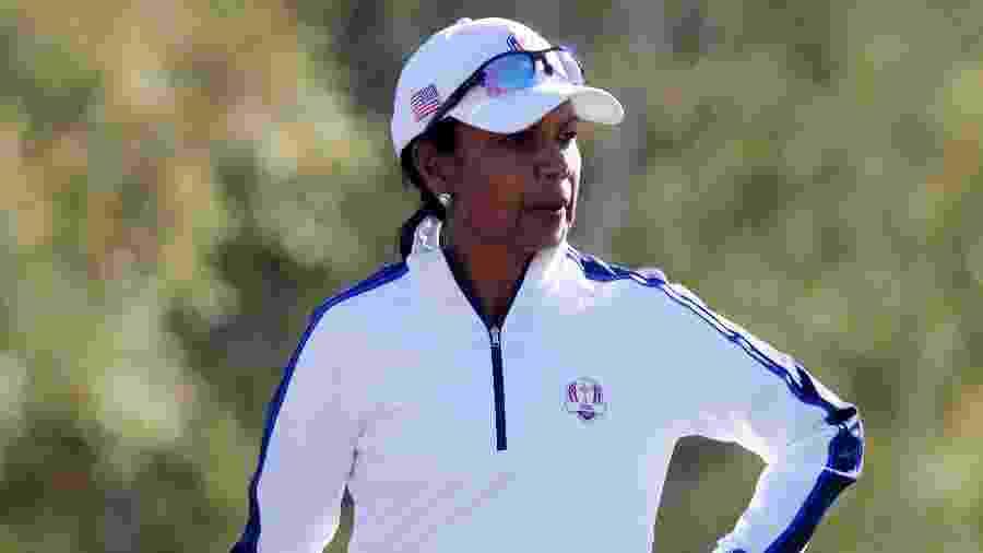 Condoleezza Rice durante partida de golfe na França - Charles Platiau/Reuters