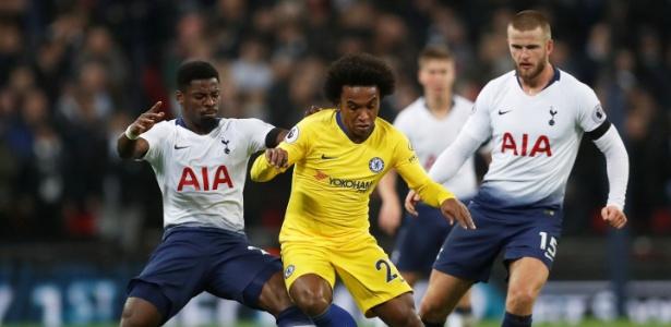 """""""Estou com a cabeça aqui (no Chelsea), tenho um ano e meio de contrato"""", disse - Matthew Childs/Action Images via Reuters"""