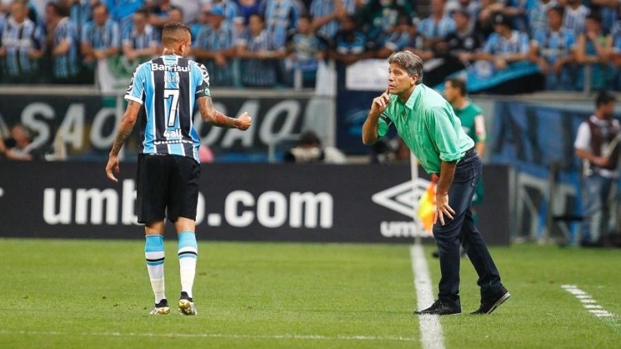 47839ef5c4b9a Renato Gaúcho deixa Luan fora de viagem a Caxias e adia retorno ao Grêmio