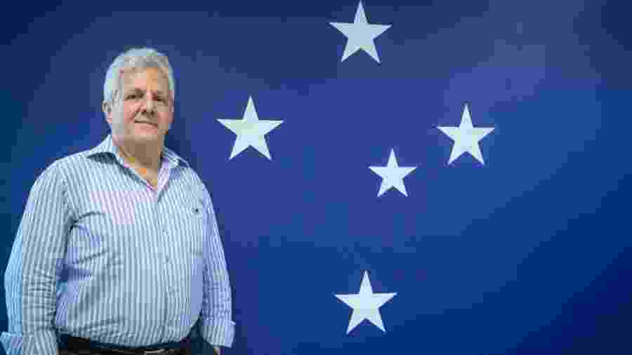Márcio Rodrigues foi vice na gestão de Gilvan e é o novo vice-presidente de futebol do Cruzeiro - Cruzeiro/Divulgação