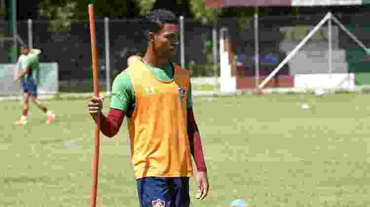 Wallace, meia-atacante formado na base do Fluminense, interessou ao São Paulo - Mailson Santana/Fluminense FC