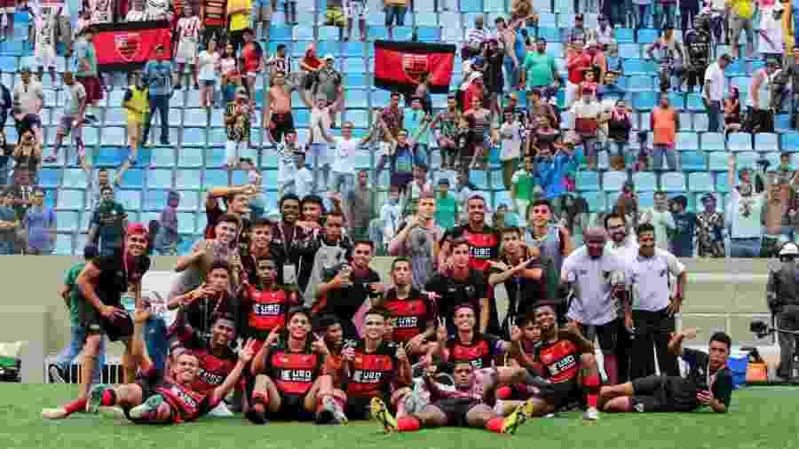 Oeste Barueri passou por duas decisões nos pênaltis para chegar à semifinal da Copa São Paulo em 2020 - Reprodução/Twitter