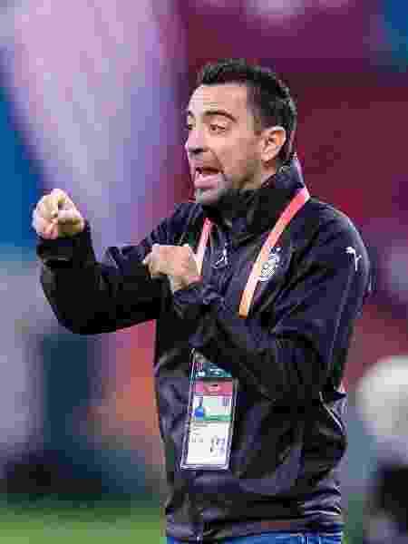 Ídolo do Barcelona, Xavi Hernandez, é atualmente técnico do Al-Sadd do Catar  - Eurasia Sport Images/Getty Images