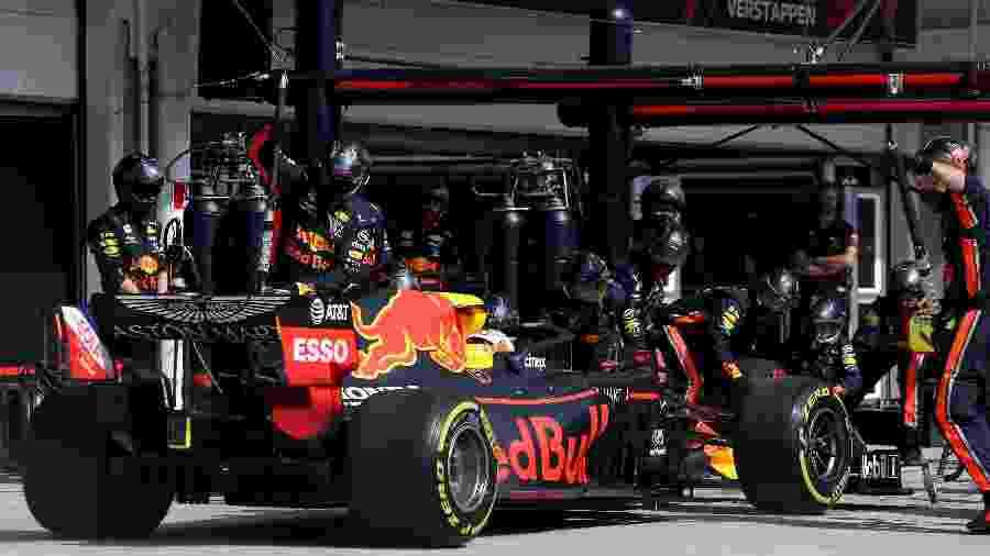 Pit stop mais rápido da história da F1 foi de Max Verstappen no GP Brasil de 2019 - Mark Thompson/Getty Images