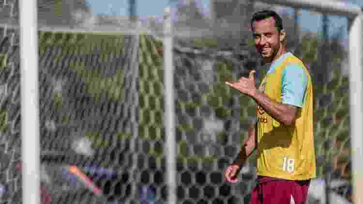 Nenê voltou a treinar e deve ser opção para o Fluminense de Odair Hellmann contra o Macaé - Lucas Merçon/Fluminense FC - Lucas Merçon/Fluminense FC