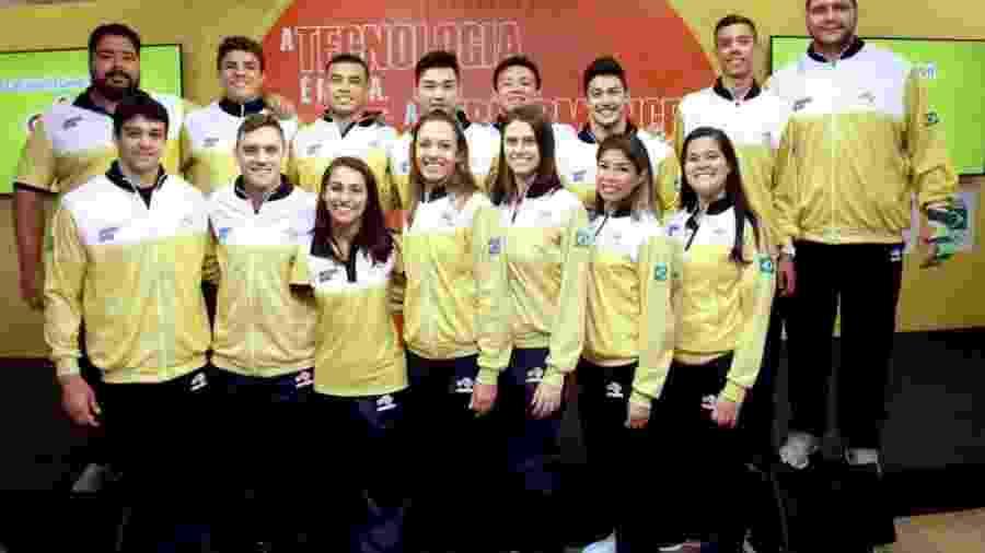 Atletas do Time Ajinomoto - Divulgação