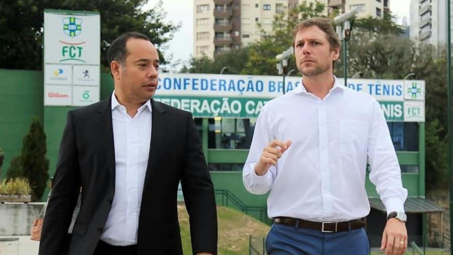 Leandro Cruz e Rafael Westrupp, em foto de 2018 - Reprodução/Instagram