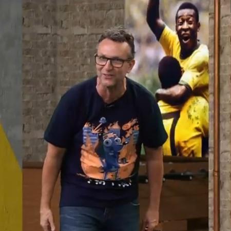 Neto se revolta com convocação de Neymar, do PSG - Reprodução/Band